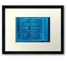 Civil War Maps 1104 Maps illustrating Gen'l Sherman's ''March to the sea'' and through the Carolinas and Virginia 04 Inverted Framed Print
