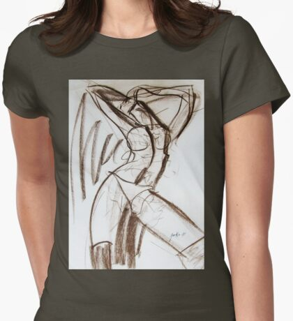 Rough Womens Fitted T-Shirt