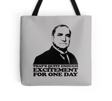 Downton Abbey Carson Excitement Tshirt Tote Bag