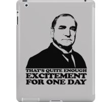 Downton Abbey Carson Excitement Tshirt iPad Case/Skin