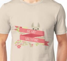 BE MY VALENTINE - FRENCH BULLDOG PINK Unisex T-Shirt