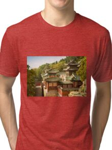 Summer Chinese Pavilion Tri-blend T-Shirt