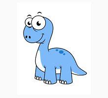 Cute illustration of a Brontosaurus. Unisex T-Shirt