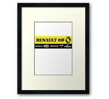 Vintage F1 Framed Print