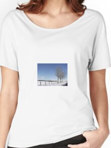 Snow Scene in Cumbria Women's Relaxed Fit T-Shirt