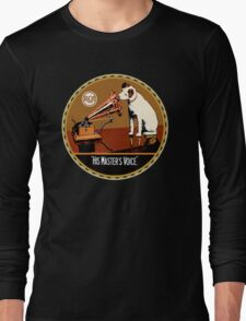 RCA vintage His Masters' Voice Long Sleeve T-Shirt