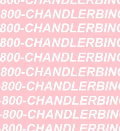 I know when that chandler bings Sticker