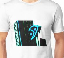Melbourne Aquarium sign with buildings in background Unisex T-Shirt