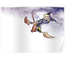 Little Witch - Flying Poster