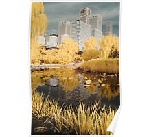 Infra Red Reflections Beijing Poster