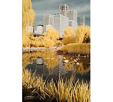 Infra Red Reflections Beijing Photographic Print