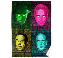 Breaking Bad All Stars Poster