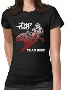 chad reed two two Womens Fitted T-Shirt