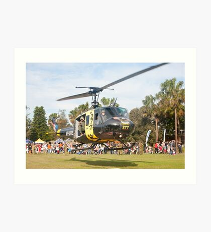 Huey Eagle One Helicopter Art Print