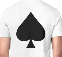 ACE, Ace of Spades, Black, Music, Motorbike, Hells Angels, Gang, Gamble, Cards Unisex T-Shirt