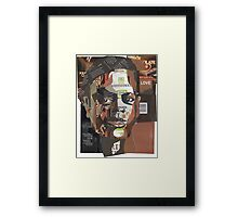 Mirror of anchestry Framed Print