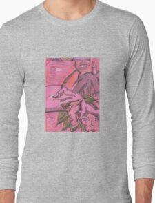 reaching in Long Sleeve T-Shirt