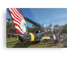 Huey Eagle One Helicopter  Metal Print