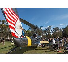 Huey Eagle One Helicopter  Photographic Print