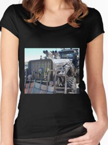 Mad Max Fury Road Vehicle Women's Fitted Scoop T-Shirt