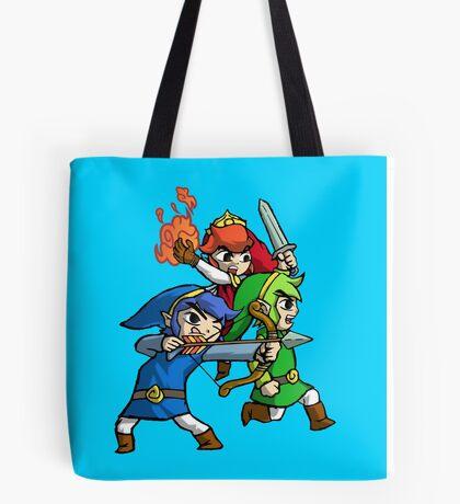 Triforce Heroes Legend of Zelda Tote Bag