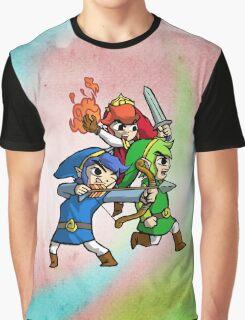 Triforce Heroes Legend of Zelda Graphic T-Shirt