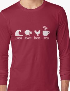 Sea Ewe Hen Tea Long Sleeve T-Shirt