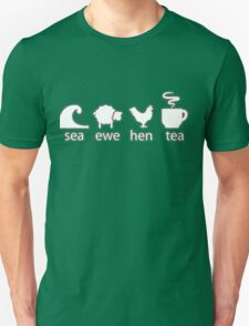 Sea Ewe Hen Tea T-Shirt