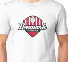 Football coat of arms of Denmark Unisex T-Shirt