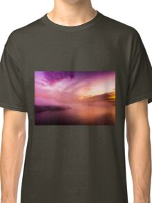 Fog over the bridge Classic T-Shirt