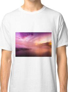 Fog over the bridge Classic T-Shirt