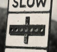 Major Road Ahead Sticker