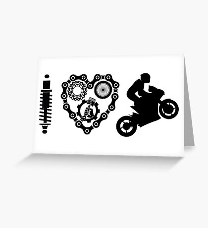 I Love Wheelies  Greeting Card