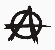 ANARCHY SYMBOL Kids Tee