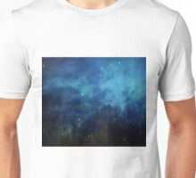 Dragonflies in the night Unisex T-Shirt