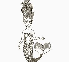 fairy Mermaid with long curly hair.  Unisex T-Shirt