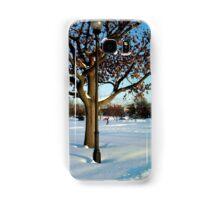 A winter snow scene Samsung Galaxy Case/Skin