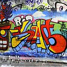 Street Art Melbourne #100 by bekyimage