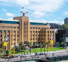 Museum of Contemporary Art Sydney Australia by Martin Berry Photography