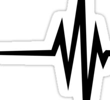 Pulse / beat / EKG Sticker