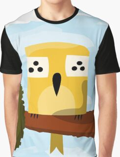 A bird on a branch Graphic T-Shirt