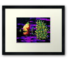 In The Tank - Bonestalkeropportunistker & a pack of Buzzripperscaddlecus Framed Print