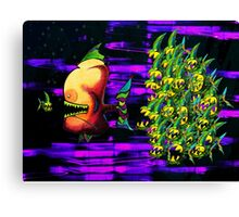 In The Tank - Bonestalkeropportunistker & a pack of Buzzripperscaddlecus Canvas Print