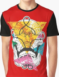 Geometry Skull Graphic T-Shirt