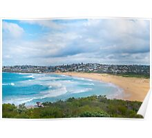 South Curl Curl Beach Sydney Australia Poster