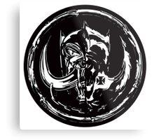 Evil & Evil Metal Print