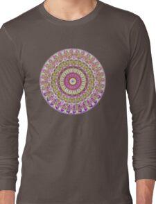 Pretty Hippy pink mandala Long Sleeve T-Shirt