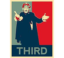 Third doctor - Fairey's style Photographic Print