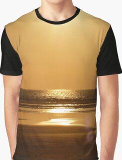 Orange Ocean Graphic T-Shirt