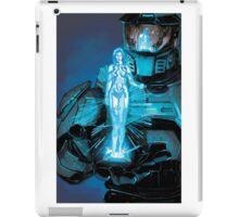 halo cortana chief iPad Case/Skin